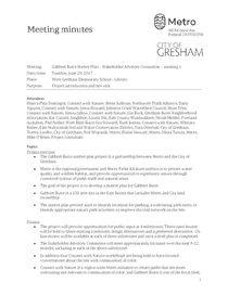 Gabbert Butte Stakeholder Meeting 1 minutes