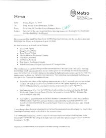 LUFO steering committee recommendation