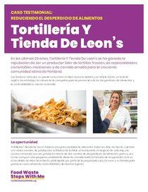 Tortilleria y Tienda De Leon's - Spanish