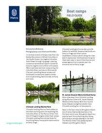 Boat ramp field guide