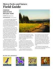 Cooper Mountain Field Guide