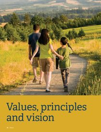Shared Values, Principles and Vision