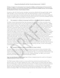 Oregon Zoo Boardwalk and Gate J Security Improvements CMGC draft findings