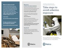 Brochure: Take steps to avoid asbestos exposure
