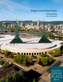 2013–14 Oregon Convention Center annual report