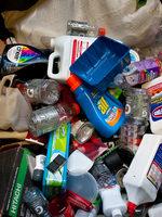 photo of plastics to recycle