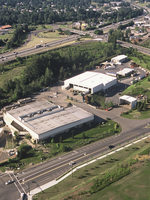 aerial view of Metro South transfer station in Oregon City