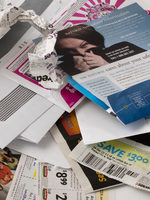 photo of junk mail