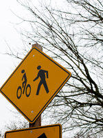 photo of bike crossing