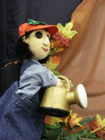 photo of the Compost City puppet show