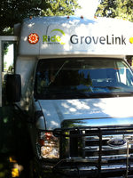 photo of GroveLink bus in Forest Grove