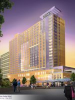 rendering of the OCC hotel