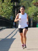photo of Nang Dunn running