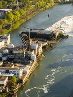 Willamette Falls Legacy Site aerial