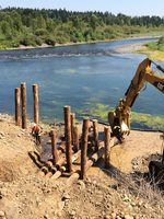 photo of restoration at River Island
