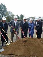 Jesse Quinn Apartments groundbreaking