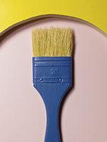 paintbrush in circle