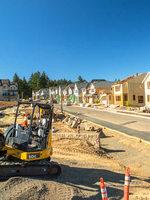 construction at Villebois in Wilsonville