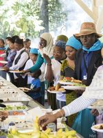 Metro teamed up with the Immigrant and Refugee Community Organization to host community picnics at Metro sites.