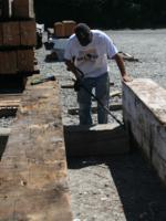 Photo of deconstruction worker