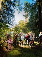 photo of native plant walk at Salmon Homecoming 2018