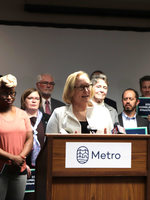 Metro Council President Lynn Peterson
