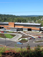 Factoria recycling and transfer station in King County