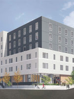 rendering of 72nd & Baylor apartments