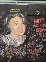 mural of Breonna Taylor in downtown Portland