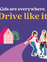 Safety campaign image that reads