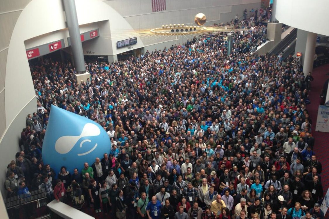 photo of the crowd at DrupalCon 2013