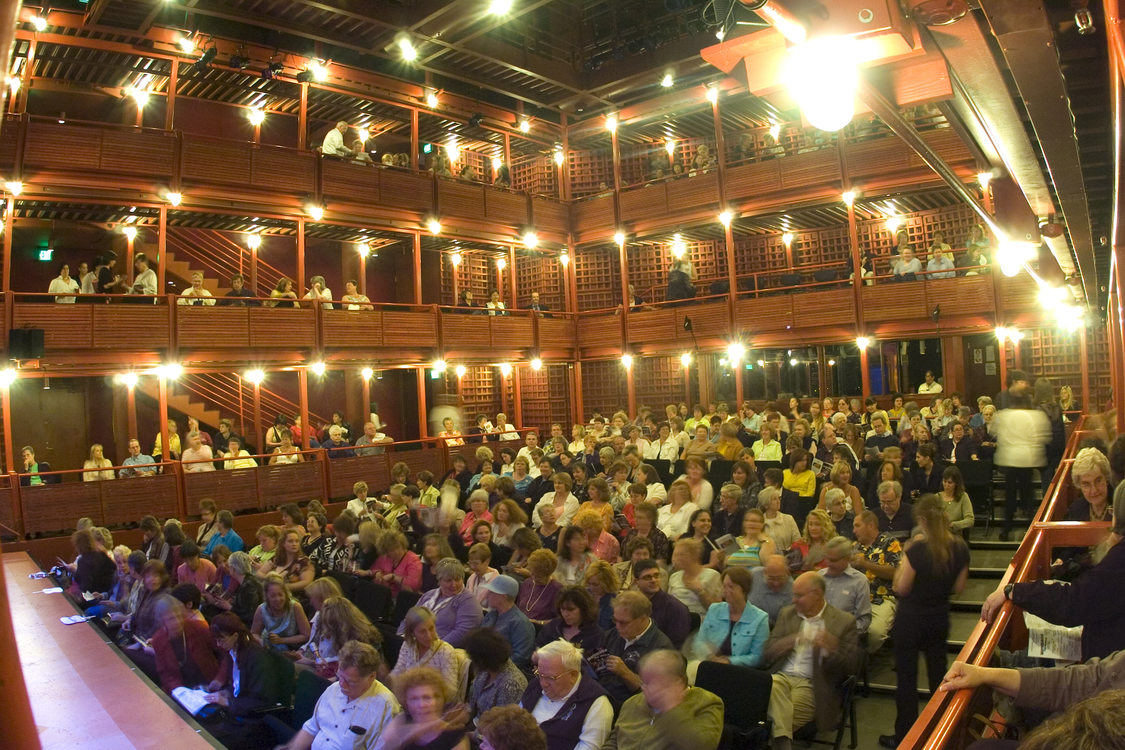 photo of the interior of Dolores Winningstad Theatre