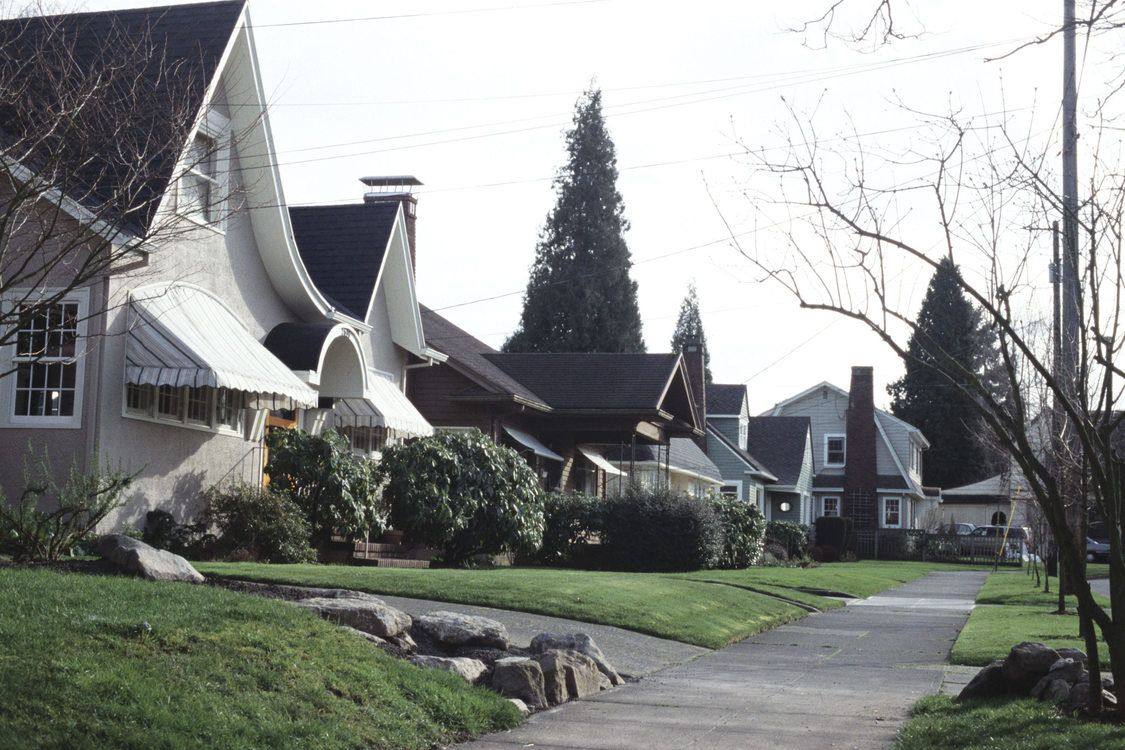 photo of neighborhood street