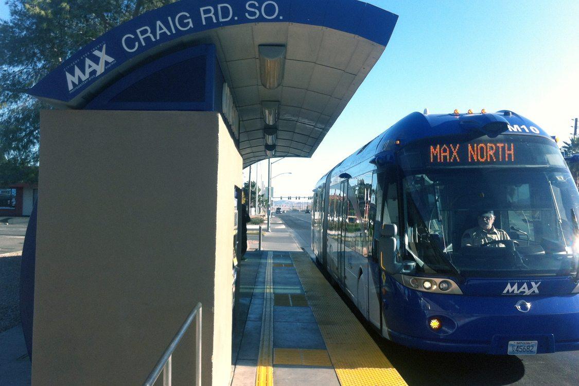 What S Brt A Ride Around Las Vegas On Its Bus Rapid