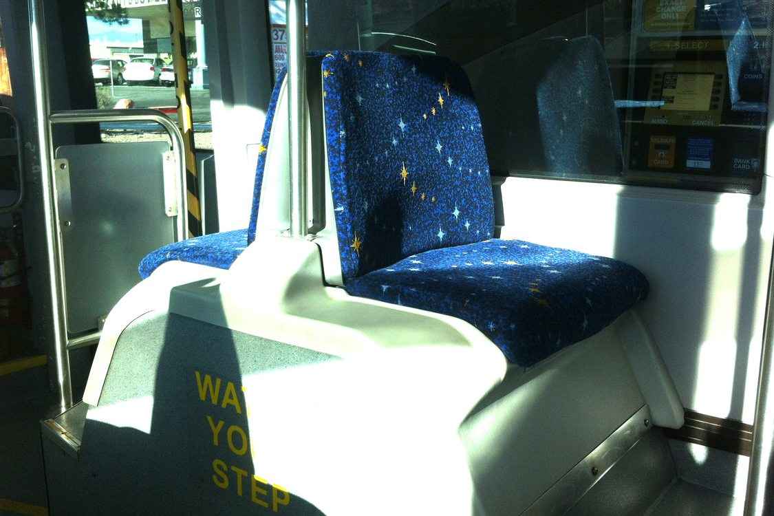 BRT Vegas seats on wheel wells