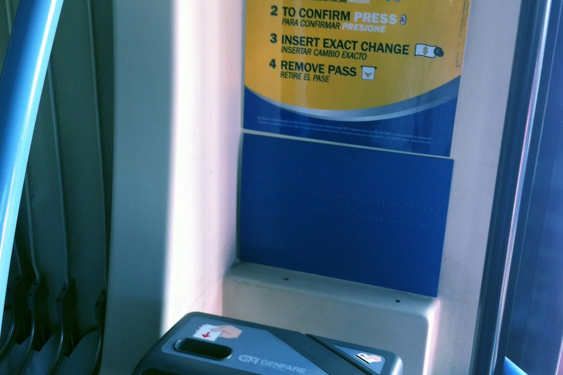 BRT onboard pay station