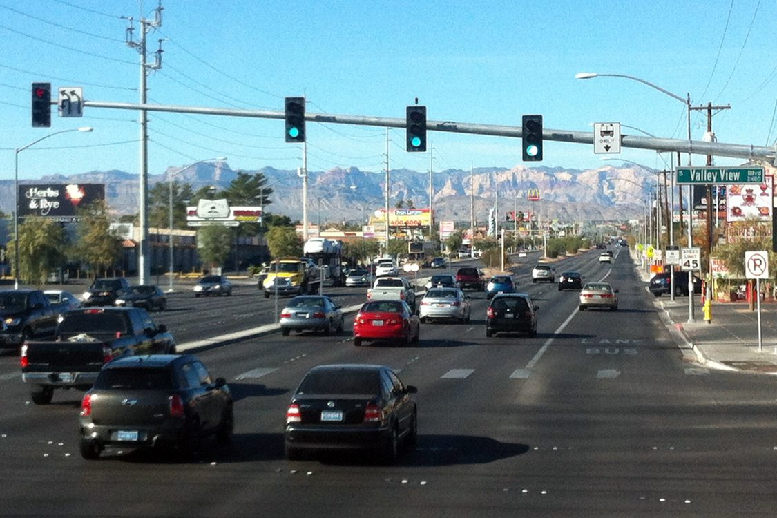 Dedicated BRT lane