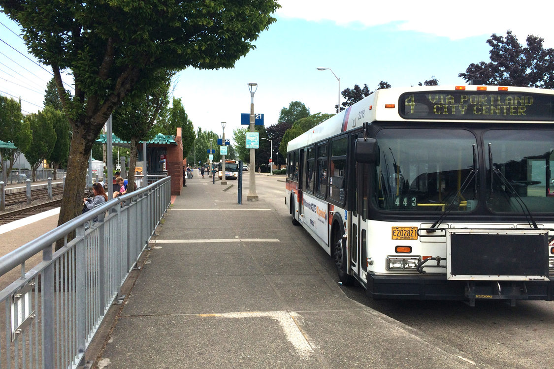4-Division at Gresham Transit Center