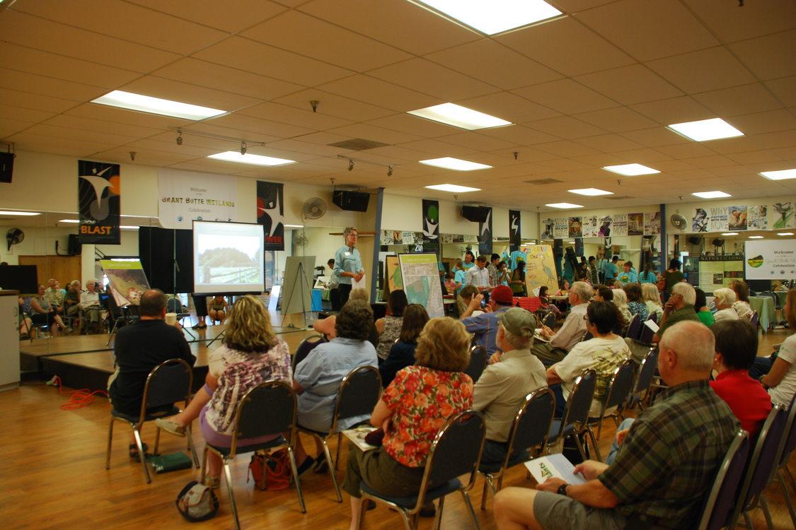 photo of Grant Butte Wetlands celebration