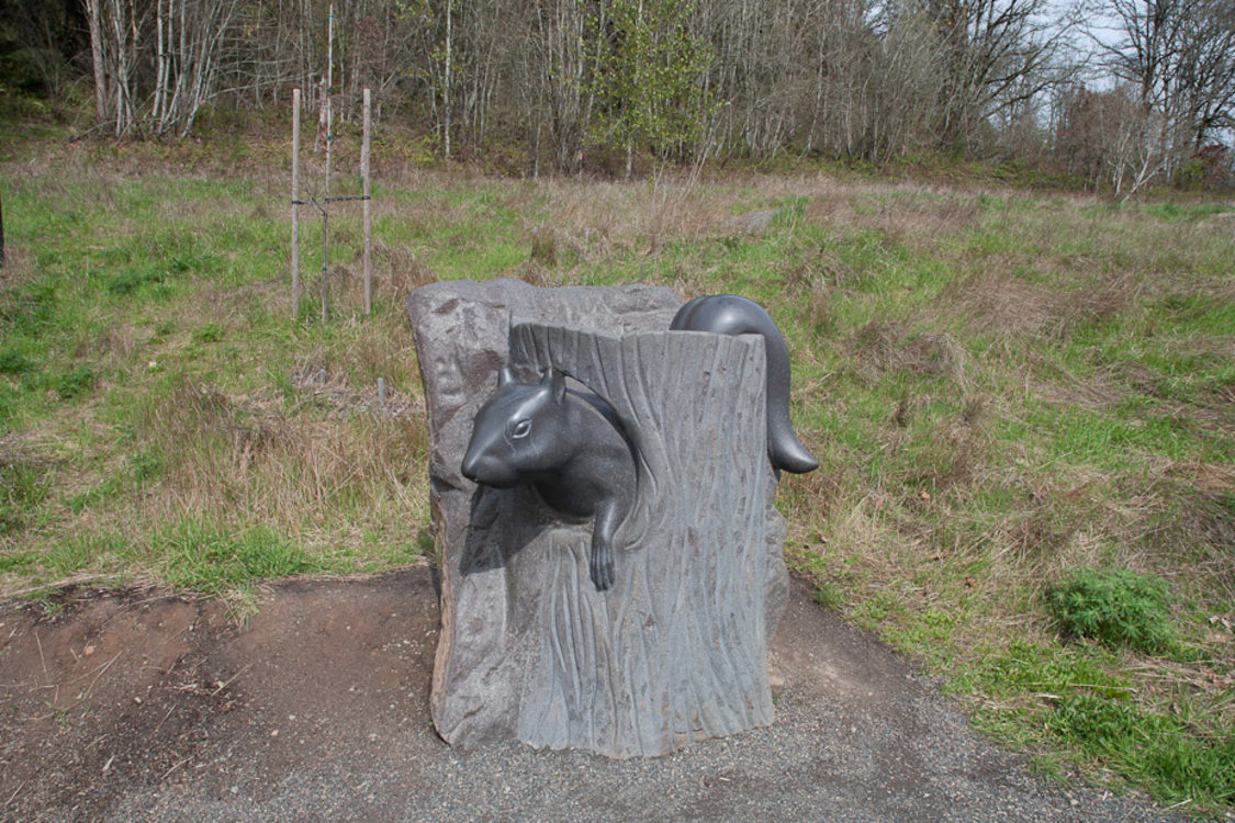 sculpture at Mount Talbert Nature Park