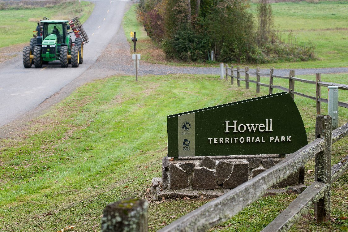 Howell Territorial Park sign