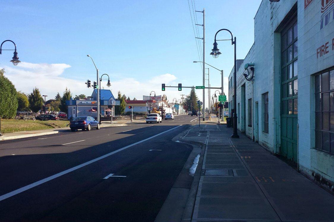 Baseline Street after upgrades 1