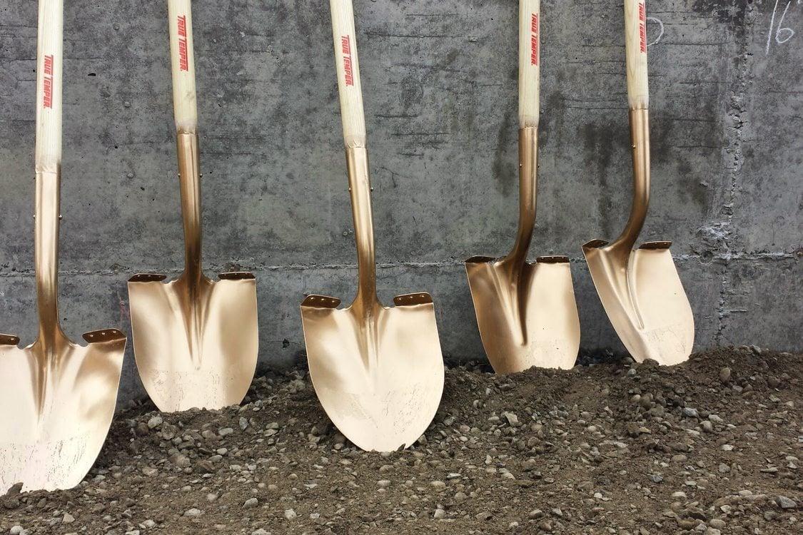 Golden shovels