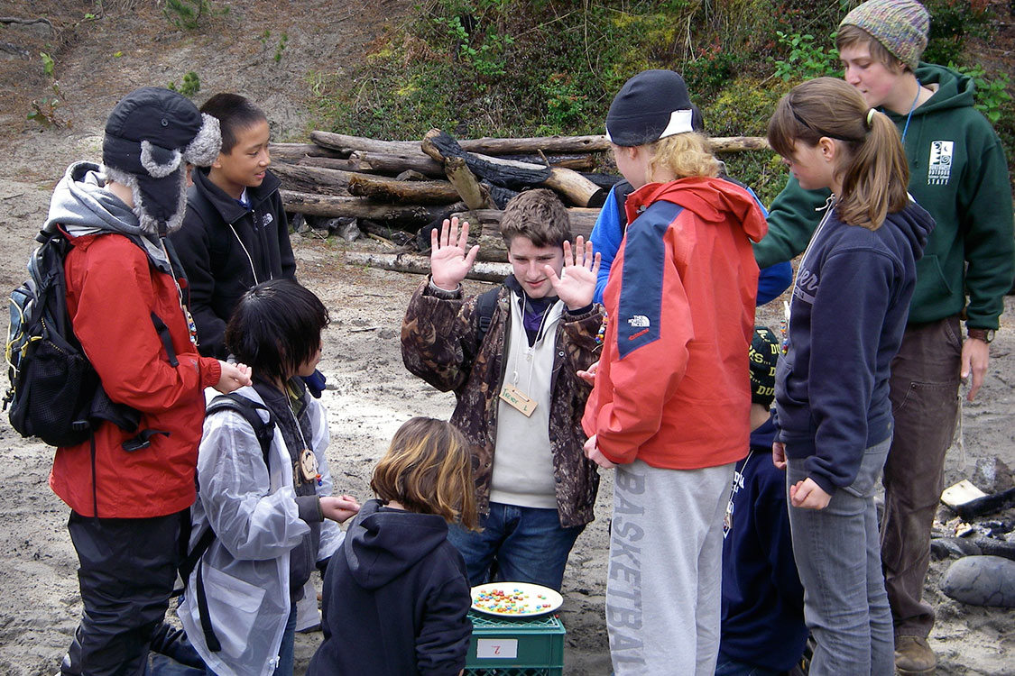 photo of kids at outdoor school