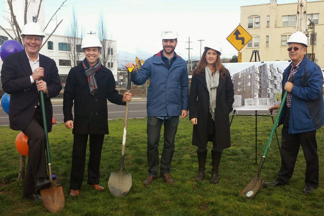 TOD Block 75 Groundbreaking