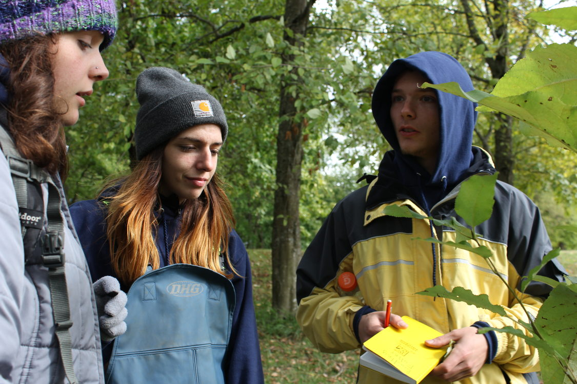photo of Youth Ecology Corps students