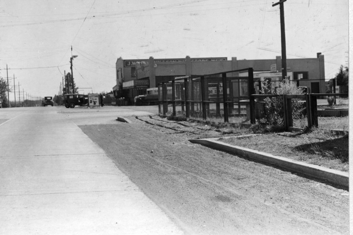 The corner of 82nd and Division in 1934
