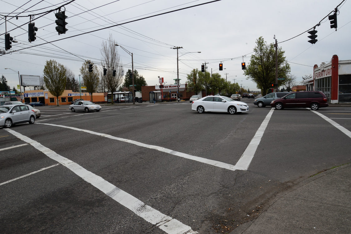 Corner of 82nd and Division