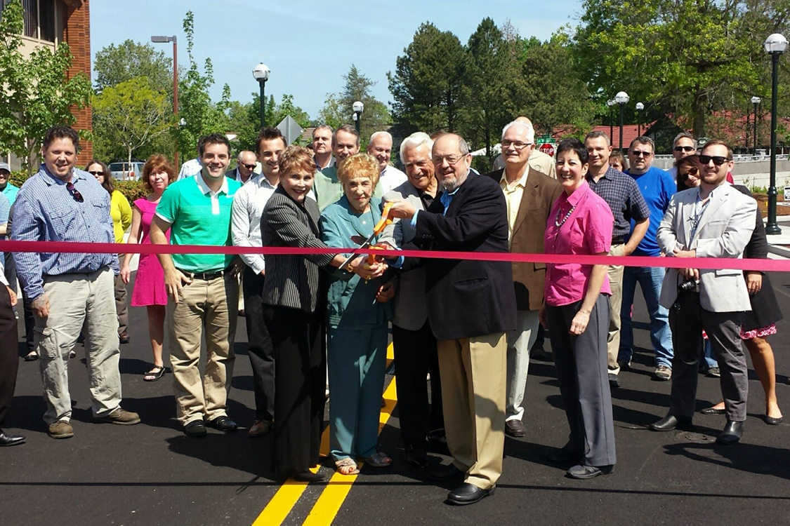 Rose Biggi Ribbon Cutting