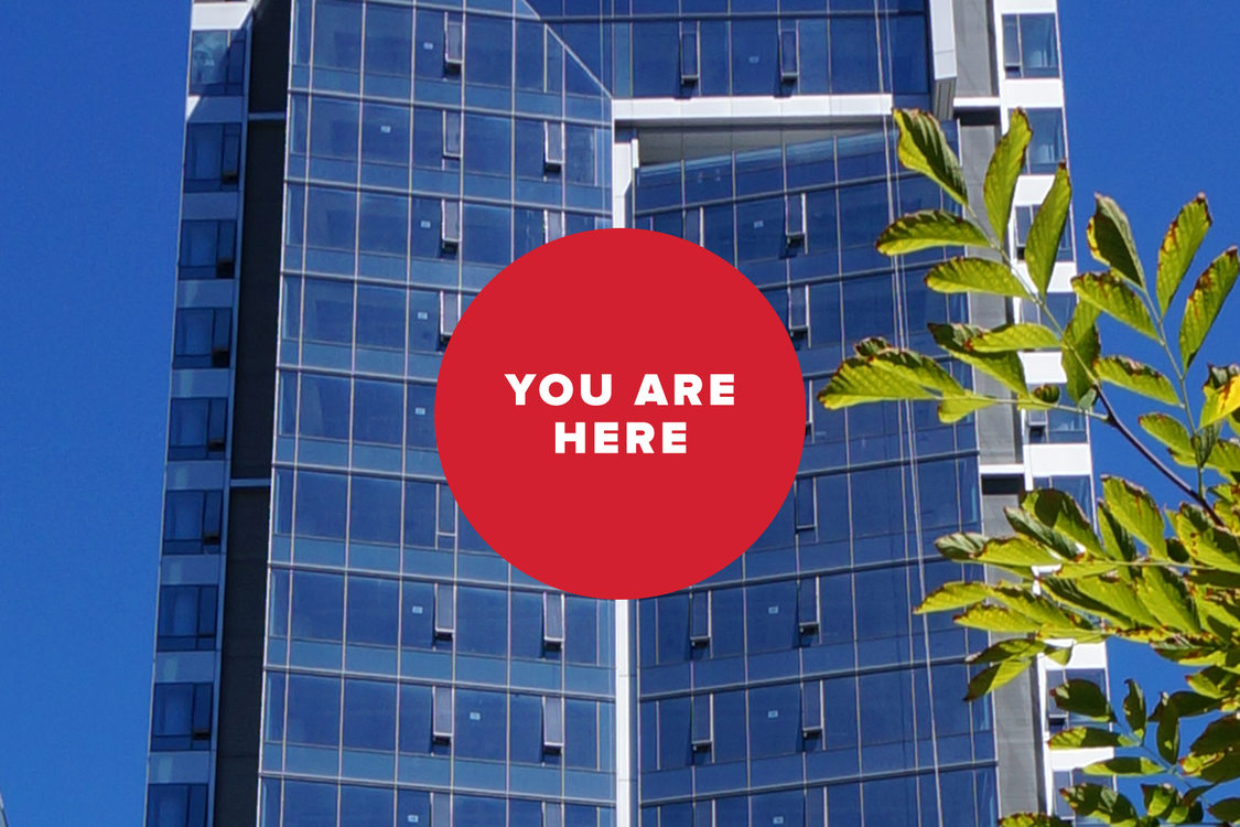 you are here high rise